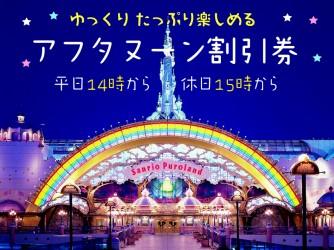 【平日14時~・休日15時~】アフタヌーンパスポート割引券