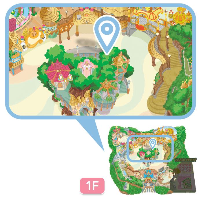 知恵の木ステージ(きゃらぐり)