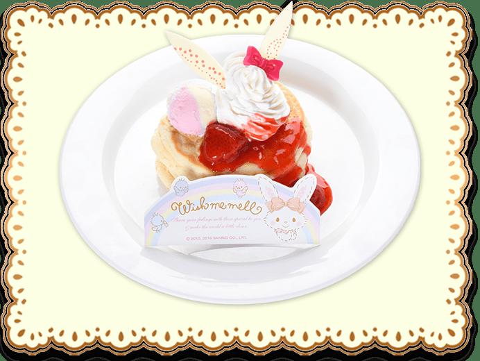 メルちゃんのリコッタパンケーキ<br>800円(税込)