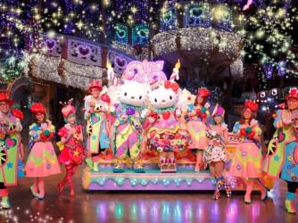 夏祭りスペシャルイベント 「Miracle Gift Parade」ナイトパレードグリーティング