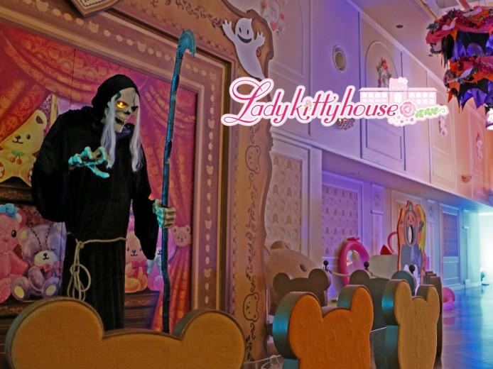 夜のレディキティハウス