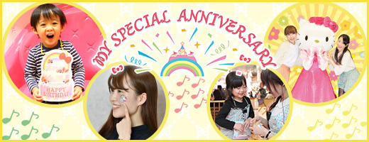 MY SPECIAL ANNIVERSARY