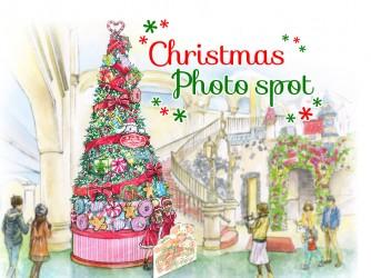 2017/11/10~12/25まで!クリスマス限定!フォトスポット