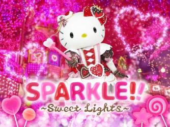 【2020/2/15(土)〜3/10(火)】ハローキティのイルミネーションショー『SPARKLE!!~Sweet Lights~』