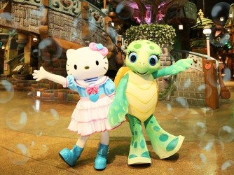 HONU BY THE SEA in サンリオピューロランド