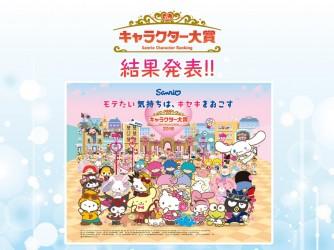 第33回 サンリオキャラクター大賞2018 結果発表!