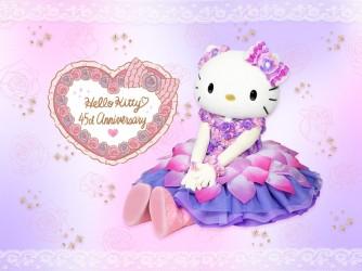 Hello Kitty 45th Anniversaryピューロランドオリジナルグッズ