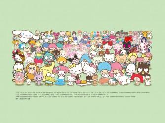 2020年サンリオキャラクター大賞入賞記念 Talkportオンライン サンリオキャラクターグリーティング