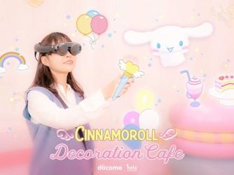 シナモロールのデコレーションカフェ